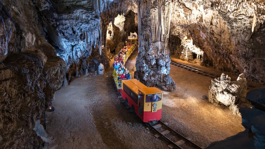 postojnska jama slovenija