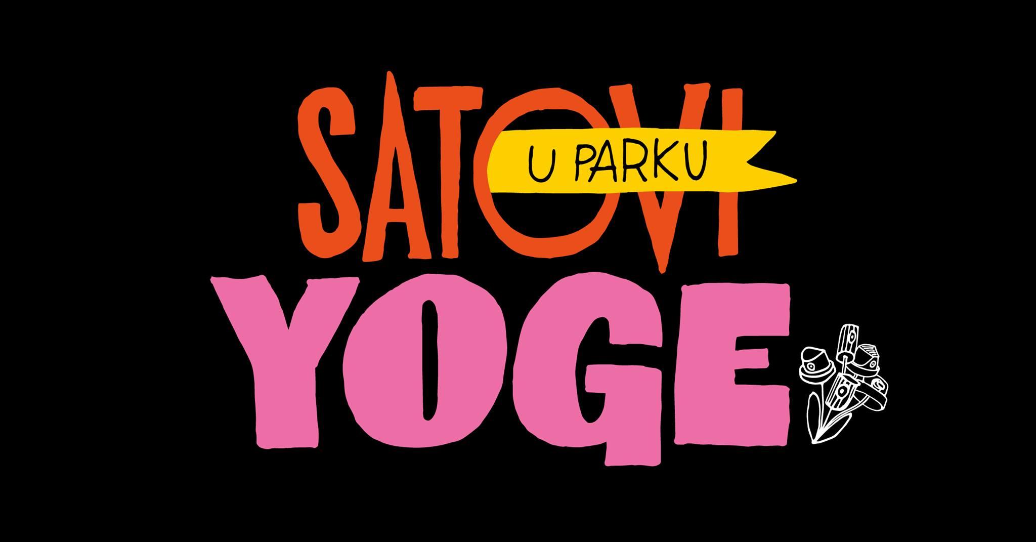 Satovi yoge u parku