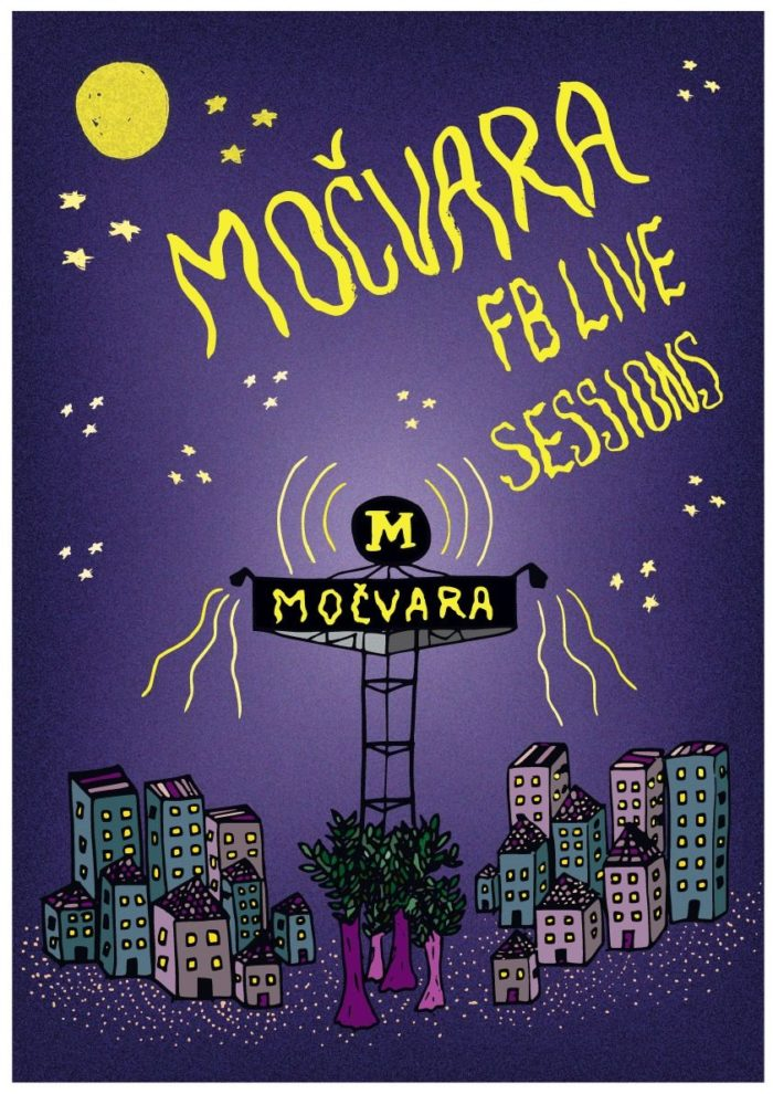 Močvara FB live sessions plakat