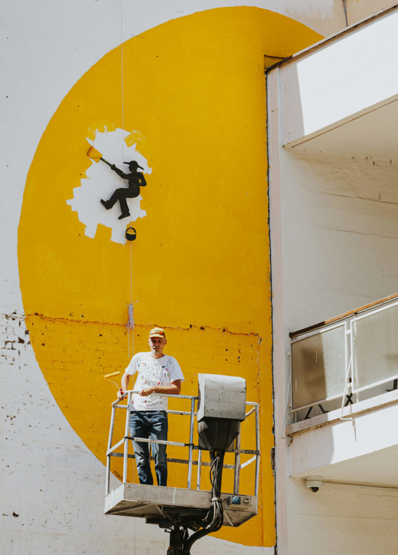 Slikar Sunca, Marko Gašparić, projekt Okolo 2020