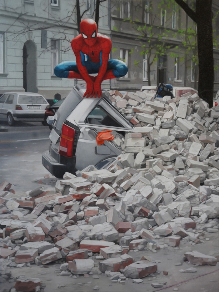 Stjepan Šandrk: Spiderman