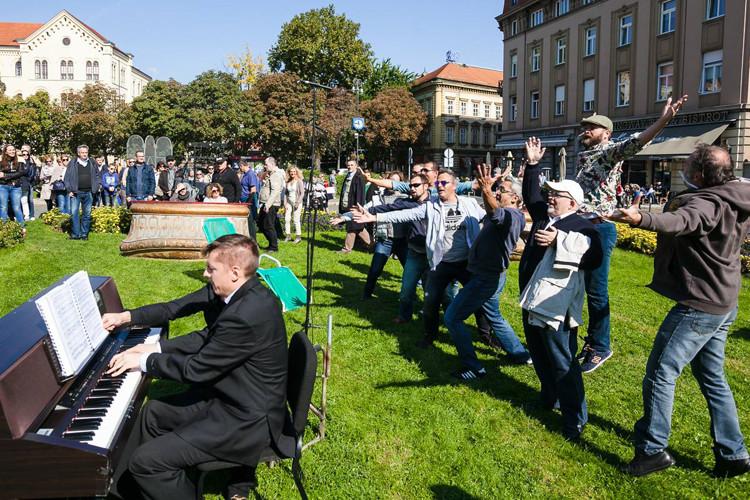 HNK Zagreb, Dan otvorenog trga