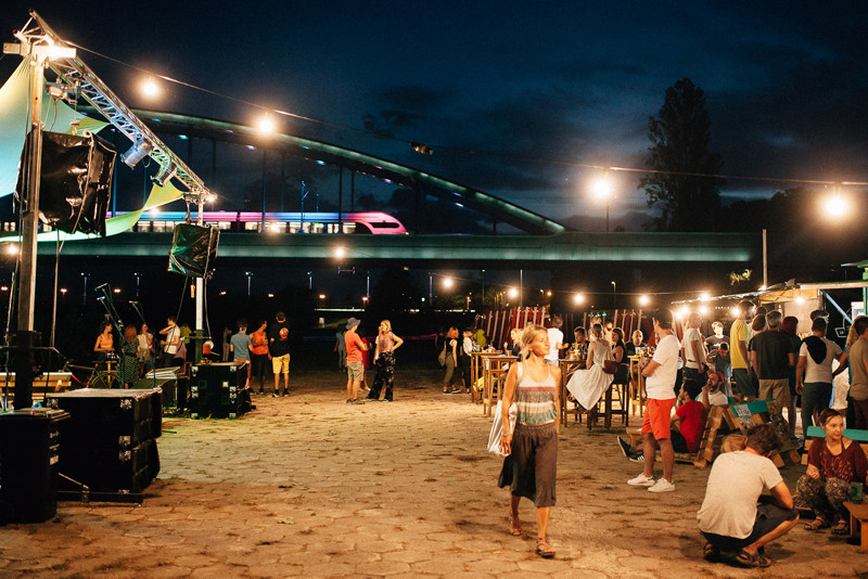 Green River Festival on the Sava