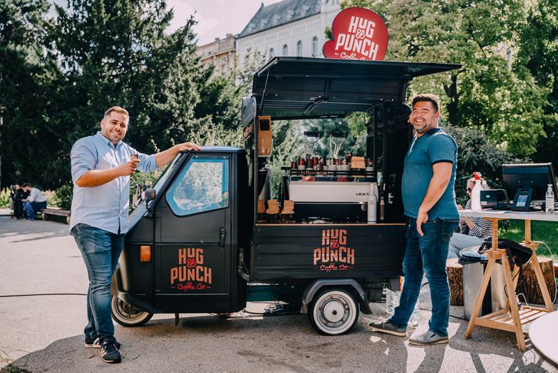 Hug&Punch Coffee, Josip Nekić i Domagoj Trusić