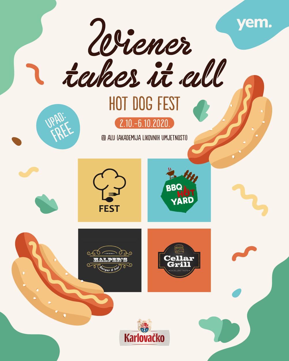 Wiener Takes It All festival u dvorištu ALU