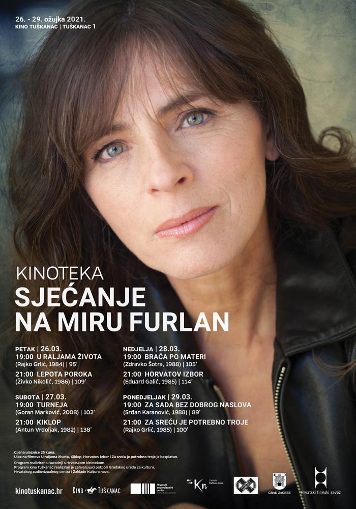 Kino Tuškanac program Mira Furlan
